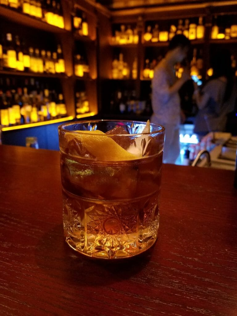 Old Fashioned Cocktail Picture