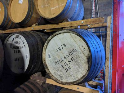 Cask of very old whisky