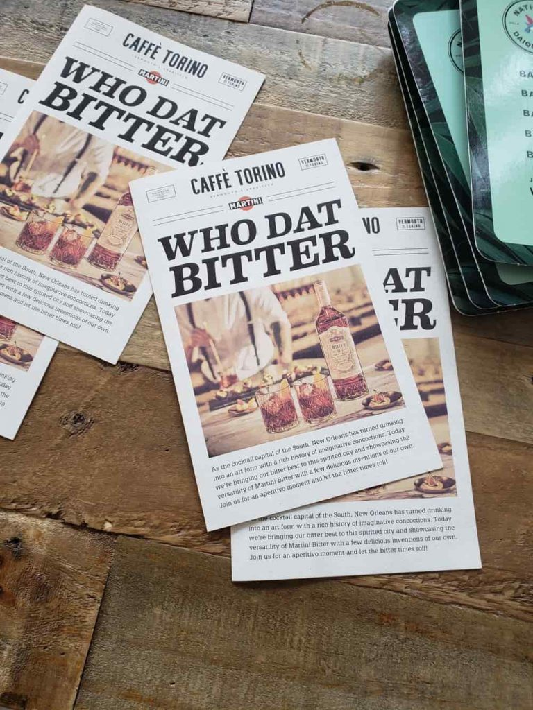 Pamphlets for bitters
